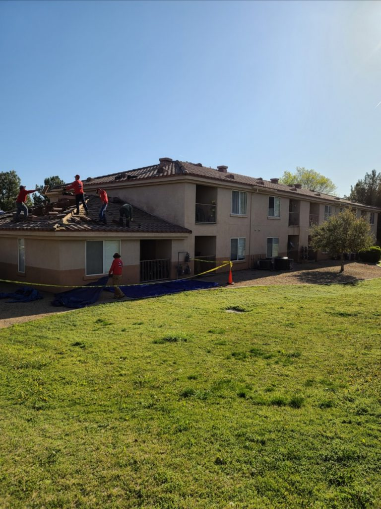 tile roofs installation