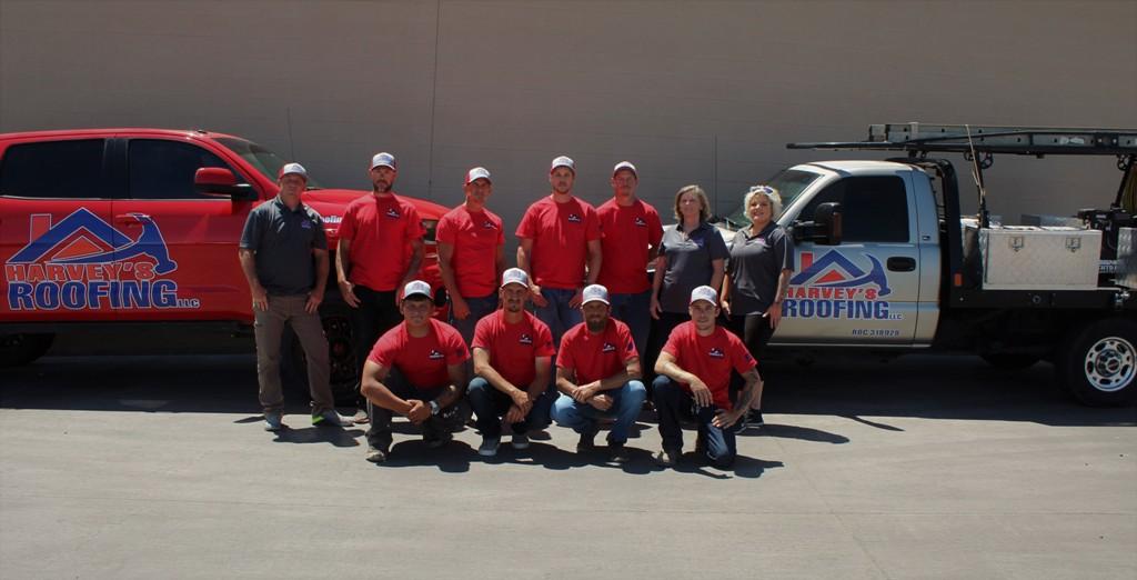 Harveys Roofing team company photo